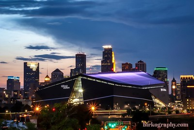 U.S. Bank Stadium.  Minneapolis, MN