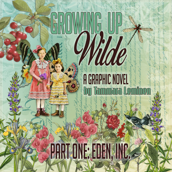 Cover for EDEN, INC. Part One of Growing Up Wilde