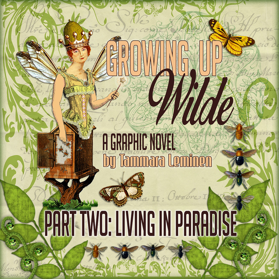 Cover for LIVING IN PARADISE, Part Two of Growing Up Wilde