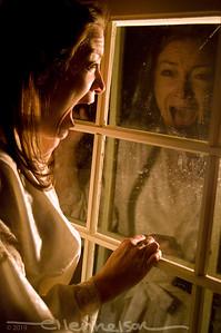 Lisa DeCaro in Evergreen Players' Night Watch.