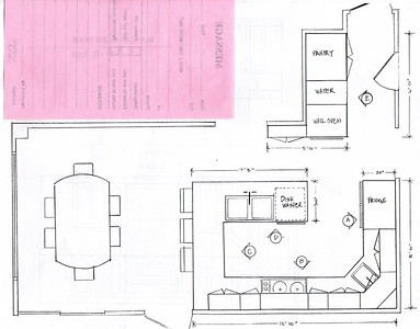New kitchen floorplan
