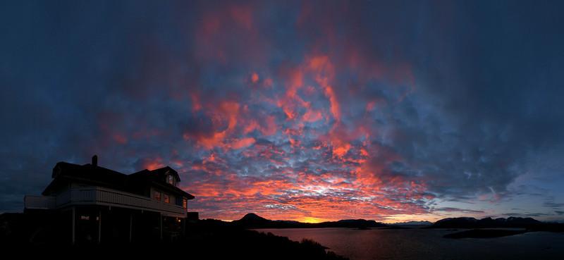 OLYMPUS E-510<br /> Sunrise over Nerbøberg