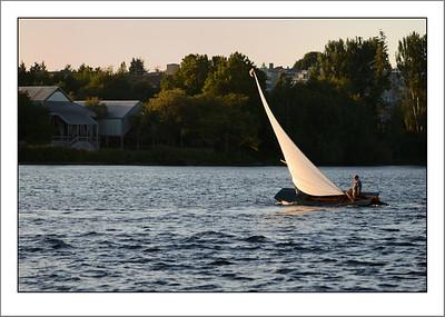 Sailing on Lake Union