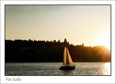 Another sail boat on Lake Union