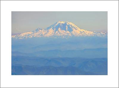 Mt. Ranier and Mt. Adams