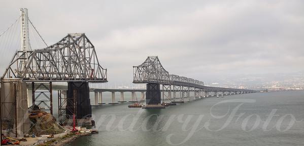 Removing the Old Bay Bridge