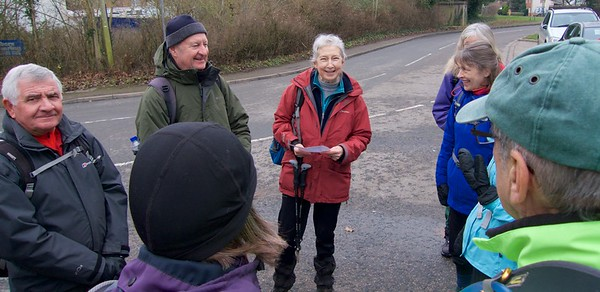 Waddesden Quaiton Ramble - 14 January 2018