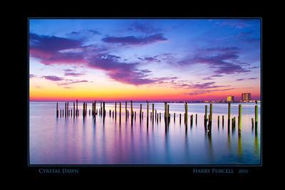 dawn at the Grand Marlin Resturant