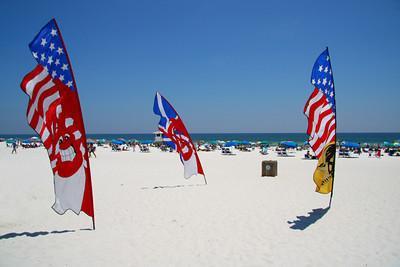 Beach festivities