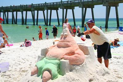 sand sculpter