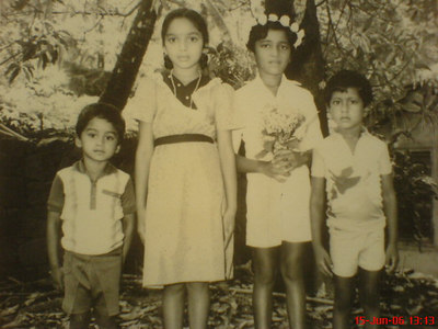Siju, Siji, Baiju and Biju Childhood