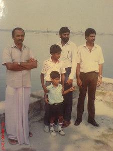 Pappa, Biju, Jose uncle and Thomachan uncle