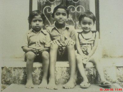Biju, Baiju and Siji Childhood