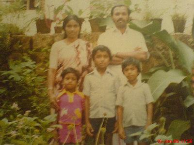 Amma, Pappa Biju, Baiju and Binu