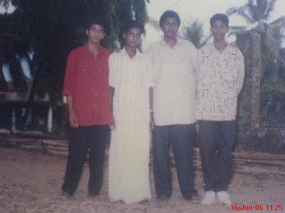 Biju with his friends