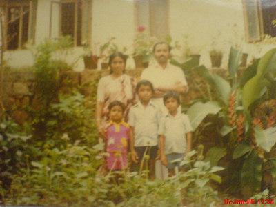 Amma, Pappa Biju, Baiju and Binu Childhood