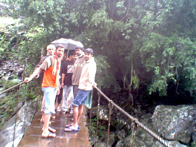 My Brother Biju and his friends in Silent Valley
