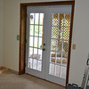 oh..in our spare time, we replaced the old leaky sliding doors with a set of new French patio doors...BIG difference!