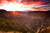 Sunset overlook<br /> Black Canyon of the Gunnison National Park, CO