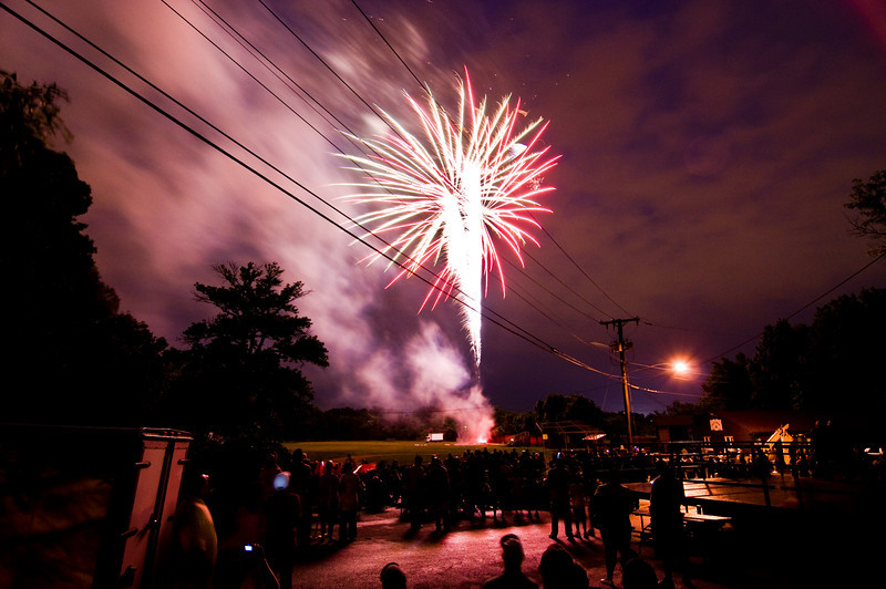 Title: Cheverly Day 2010<br /> Date: May 2010<br /> Cheverly Day fireworks.