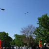 Title: Cheverly Day Flyover<br /> Date: May 2006<br /> Flyover of two F-15 Eagles during the Cheverly Day Parade.