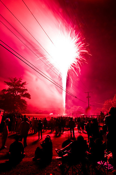 Title: The Blast<br /> Date: May 2010<br /> Extremely long exposure of the annual Cheverly Day fireworks.