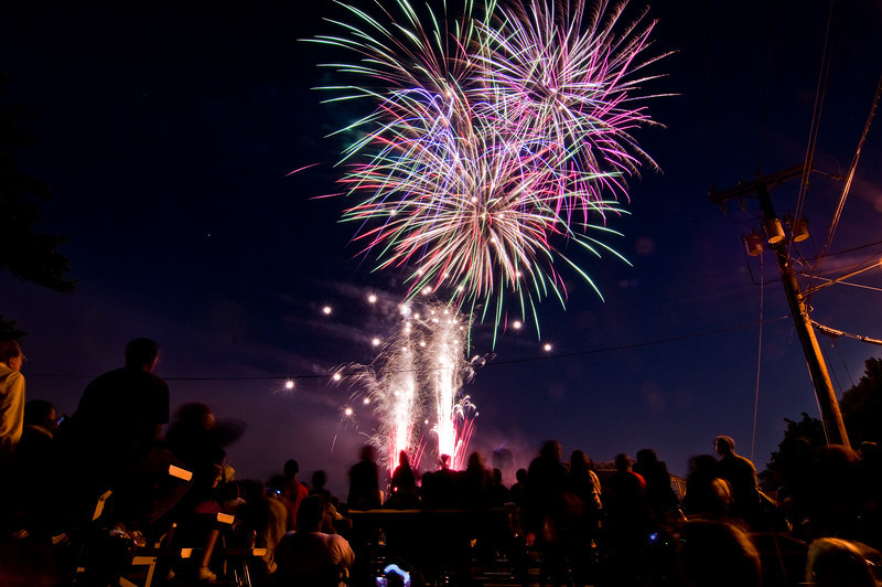 Title: Grand Finale<br /> Date: June 2009<br /> The grande finale of the annual Cheverly Day fireworks.