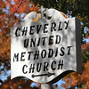 Title: Methodist Church Sign Along Cheverly Ave<br /> Date: November 2007