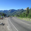 Still atop the McClure Pass, on day 3, the 2nd easiest day.