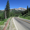 This is on the way up our last climb of the day, a leg hurting 3 mile steep climb to over 10,000 feet