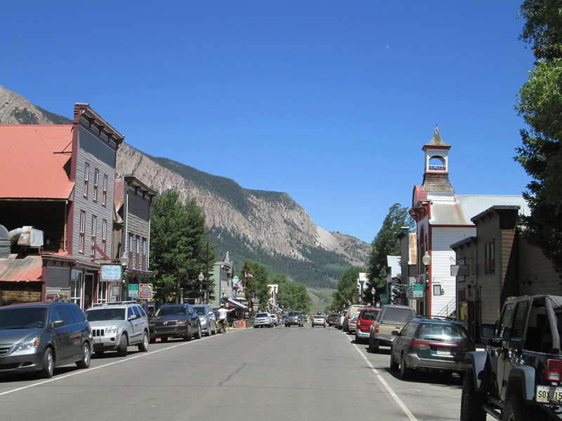 Historic downtown Crested Butte