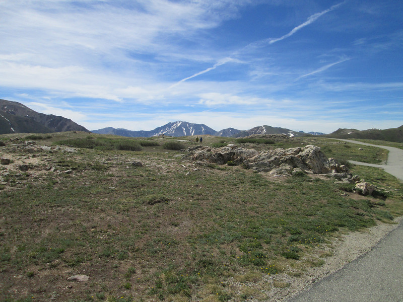 Atop Independence Pass, I hiked up that way for a while, pretty site