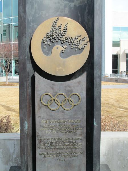 Olympic Training Center: Olympic truce