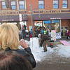 Cripple Creek Ice Festival: more chaisaws