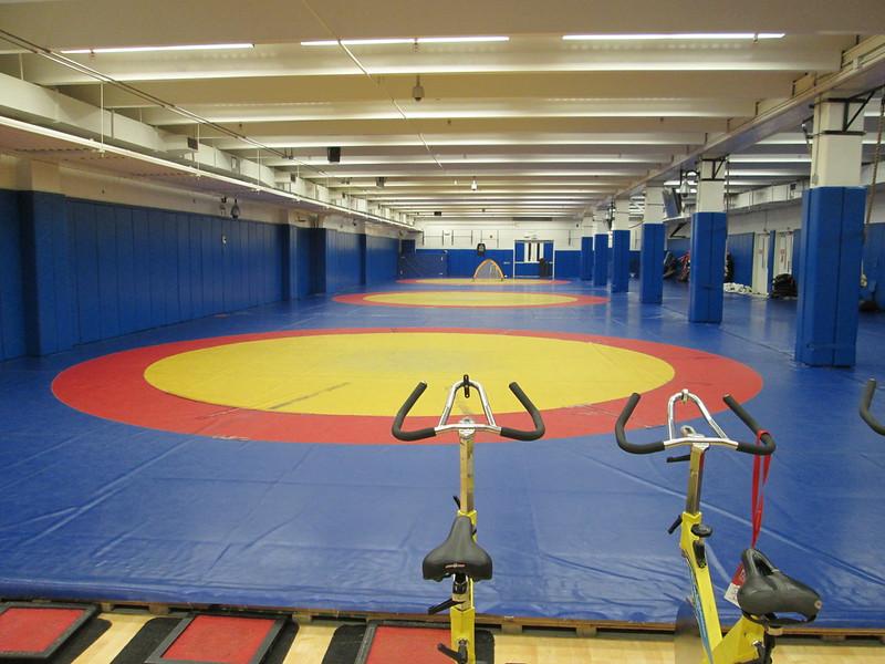 Olympic Training Center: wrestling room