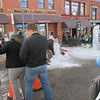 Cripple Creek Ice Festival: chainsaw scultping