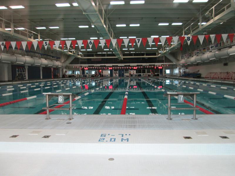 Olympic Training Center: pool
