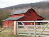 RED BARN BEAUTY<br /> Tucked against the edge of the Blue Ridge Mountains, this Barn brings a splash of color to this mid-December scene!
