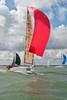 """Rocket Dog 2"" GBR3234L racing at Cowes Week 2014"