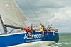 """Aberdeen Asset Management"" GBR 5955T racing at Cowes Week 2014"