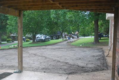 Driveway re-pave