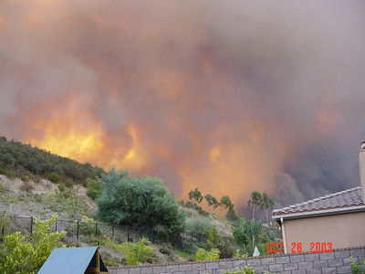 Cedar Fire October 2003