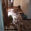 front hallway tearout