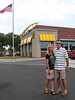 Bill & Dulcy at the new store in Cape Carteret, NC