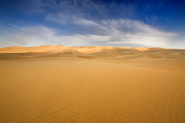 Blue on Sand
