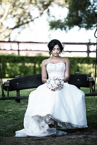 Bride - Caversham House Wedding