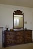 My twin bedroom nightstand & mirror