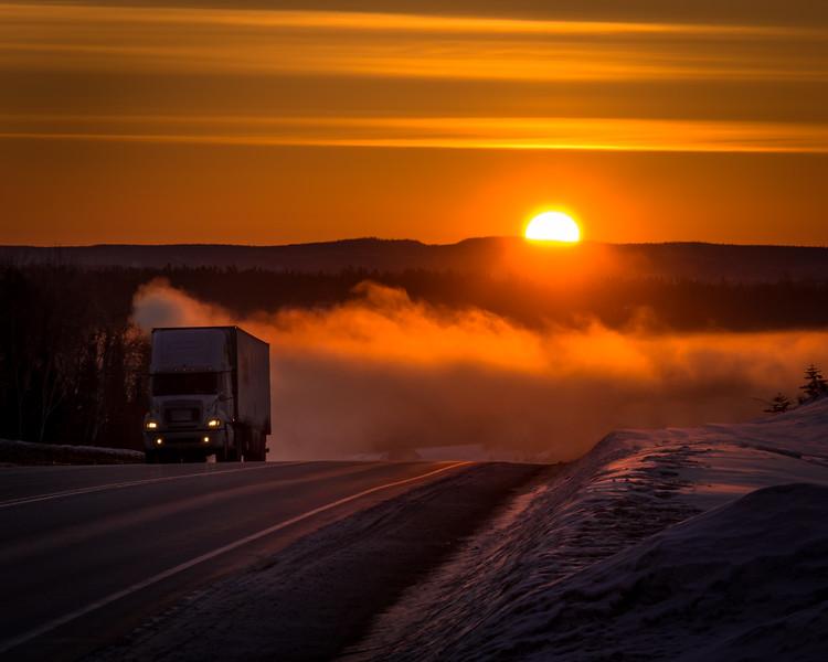 Ice Fog Ascent