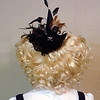 The back of the wig and hat, with an extra hairbow thrown in, just because.
