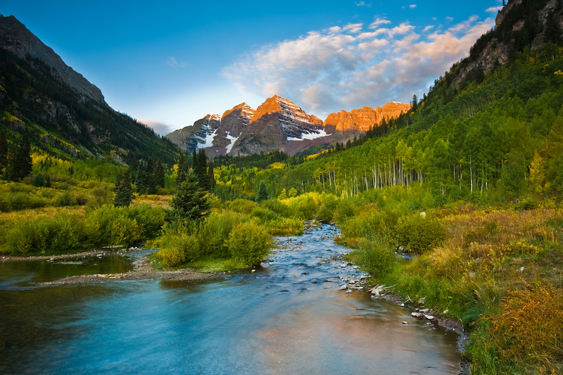 Maroon Bells<br /> Snowmass Wilderness, CO